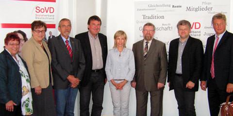 Besuch beim Sozialverband Deutschland