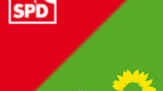 Symbolbild Rot-Grün